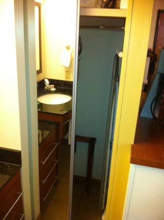 Hyatt Place San Antonio Northwest: Full Length Mirror and Closet
