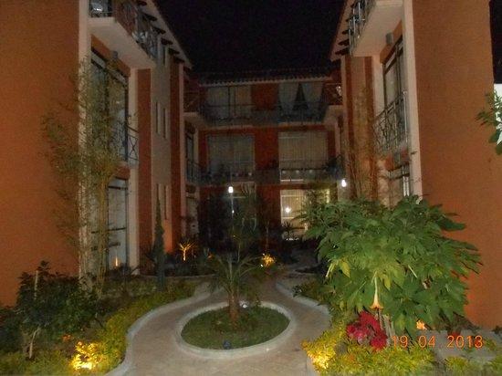 Axkan Arte Hotel: vista del hotel