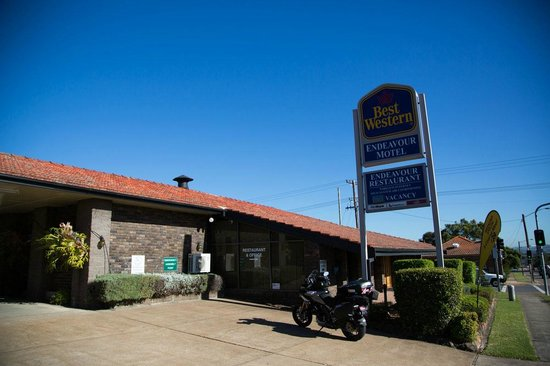 BEST WESTERN Endeavour Motel: The entrance