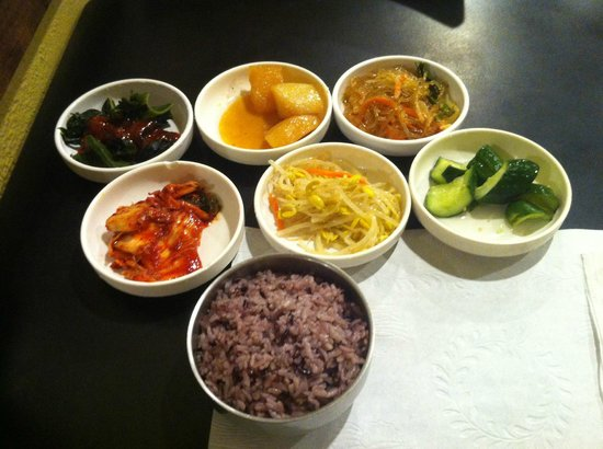 So Gong Dong Tofu House: small dished