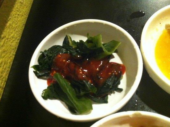 So Gong Dong Tofu House: small dish