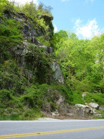 Nantahala National Forest: Ridiculously huge rock!