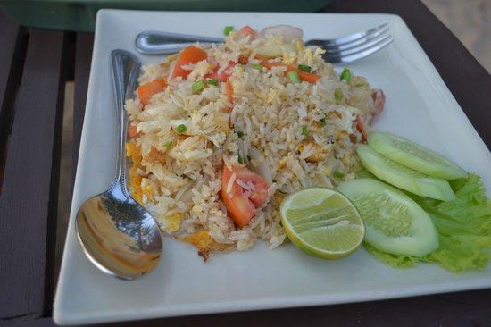 LaLaanta Hideaway Resort: Рис с морепродуктами