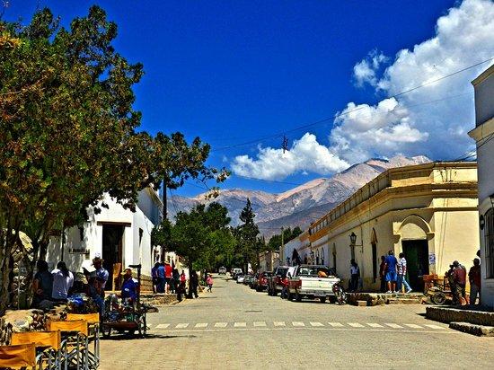 Samay Huasi: An der Plaza
