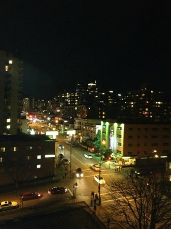 Riviera on Robson Suites Hotel Downtown Vancouver: view