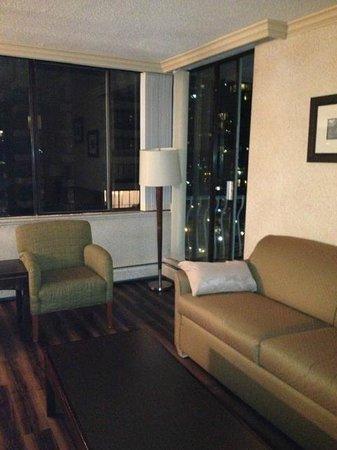 리비에라 온 롭슨 스위트 호텔 다운타운 밴쿠버 사진