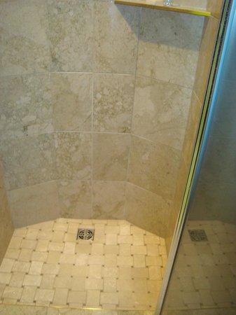 Fantasyland Hotel & Resort: Shower in Roman Room