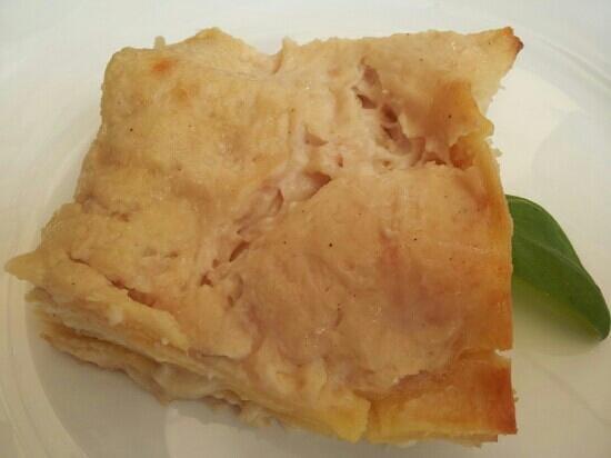 Osteria Al Guerriero: lasagna di cipolle