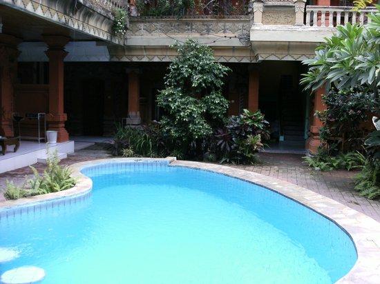 Hotel Lumbung Sari: Swimming pool