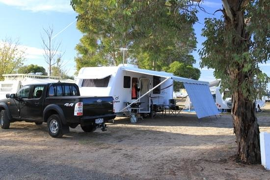 Wimmera Lakes Caravan Resort: Good for stopover, if driving through the area.