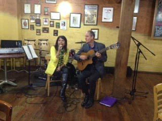 Caffe Belgiorno: Jazz Duo - fantastic performance