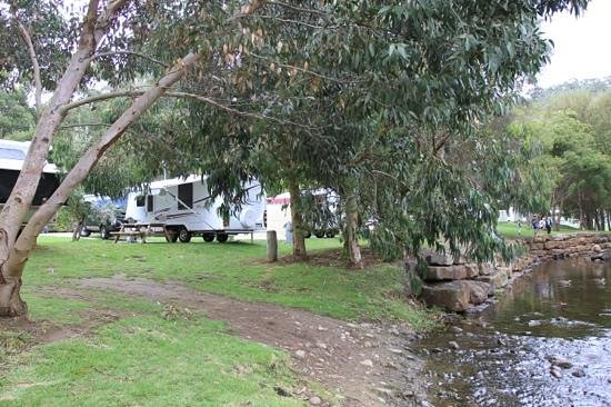 BIG4 Wye River Holiday Park: Fantastic location for large vans