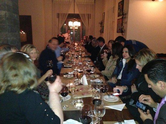Le Telegraphe de Belle-Vue: Bhamdoun celebrating at Le Telegraphe Dec 2012