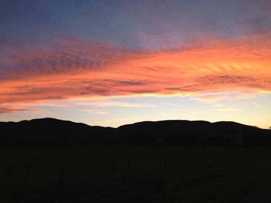 Glen Aros Country Estate : sunset