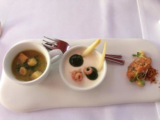 Hotel Messeyne : delicious starter