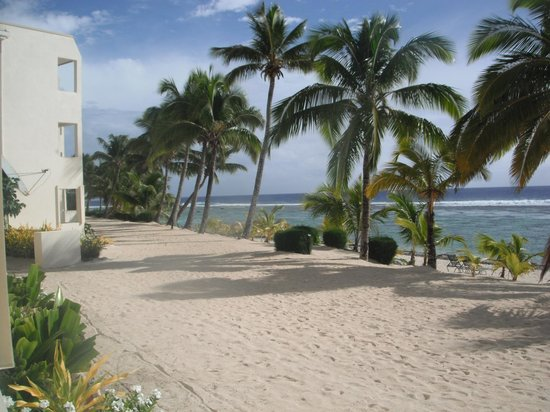 The Edgewater Resort & Spa: one view from our room