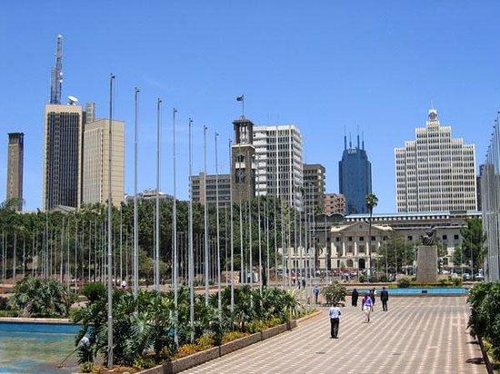 Ναϊρόμπι, Κένυα: Nairobi city park