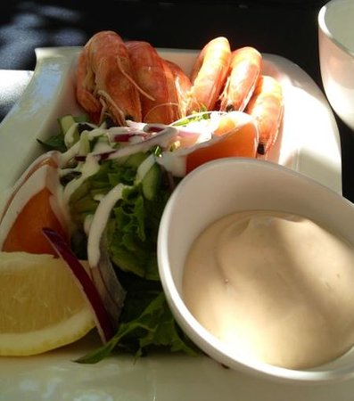 Bugzies Seafood Restaurant: Our entree :)