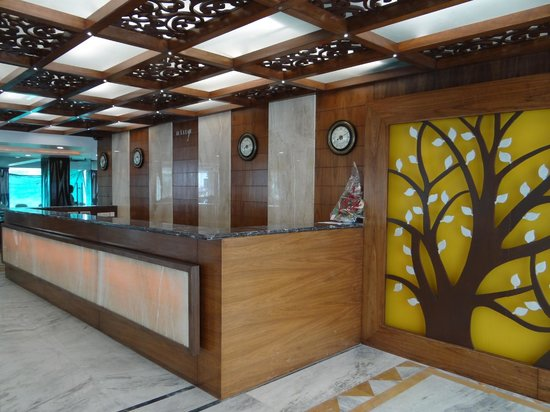Hotel Valley View: Reception Area