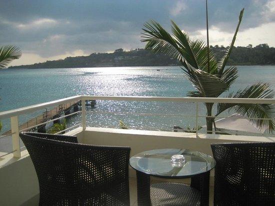 Chantilly's on the Bay: balcony