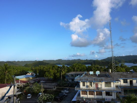 Palasia Hotel Palau: View from room