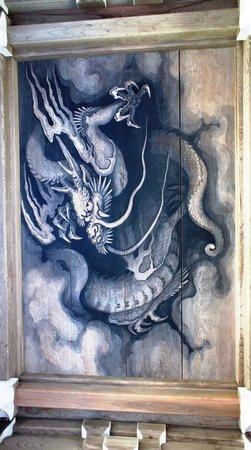 Rinsen-ji Temple : 山門の絵