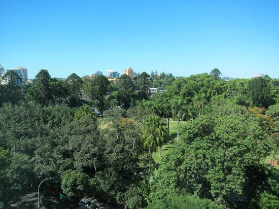 Royal On The Park: View from 8th floor (10 floor hotel) room