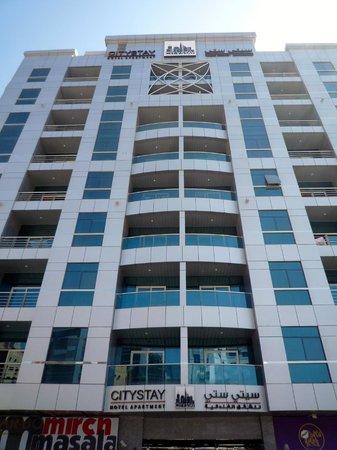 City Stay Hotel Apartment: la facciata esterna