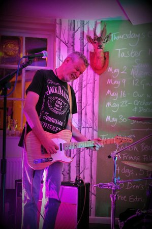 "The Minster Arms: Friday Night at ""Rock"" Wimborne - this was ""Lost At Sea"" - with Singer/Songwriter Alan Hunter"
