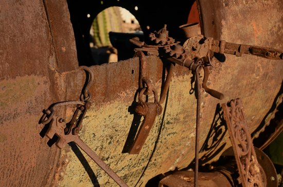 Gwalia: Old mining odds and ends