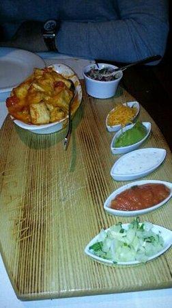 Restaurant Yucatan: chicken Tortilla wraps