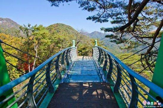 Jeongseon-gun, Sør-Korea: Sky Bridge