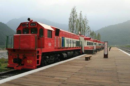 Jeongseon-gun, South Korea: Jeongseon rail