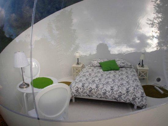 Cabanes de Kermenguy : Bubble