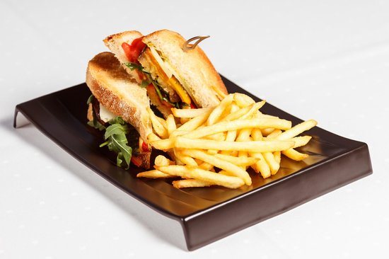 Zinc Lounge & Bar: sandwiches
