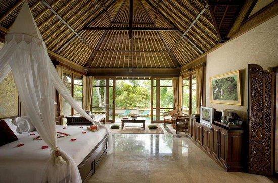 Pita Maha Resort and Spa: de slaapkamer