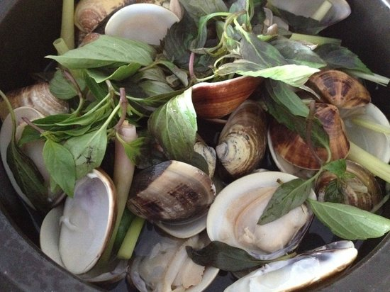 Syrena Restaurant : Lemongrass Clams