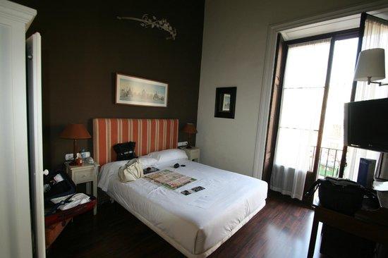 Bellas Artes Hotel: Ansicht Zimmer