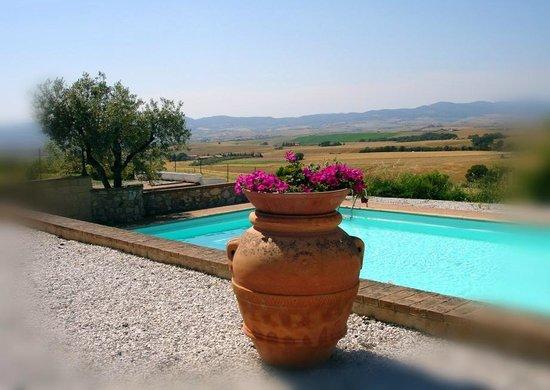Borgo di Pomaia: la piscina di Villa Irene
