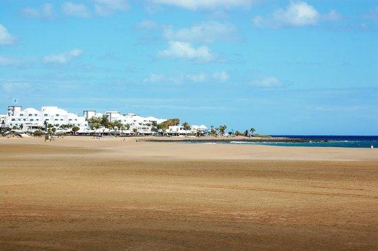 Beach Area Picture Of Hotel Riu Paraiso Lanzarote Resort Puerto