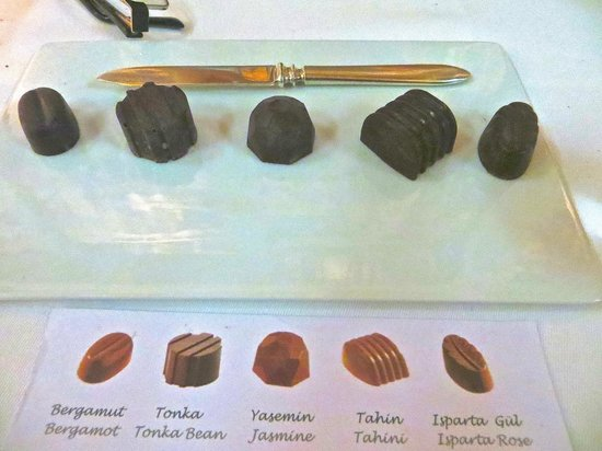 Changa: Assorted Truffles (our favorite was the Jasmine)