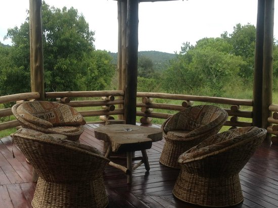 Mburo Safari Lodge: View from the Lower Lounge