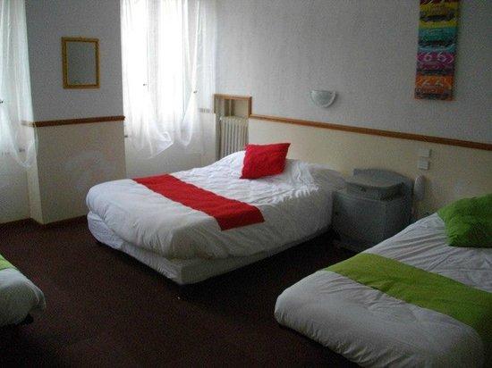 Hotel Central : Chambre quadruple