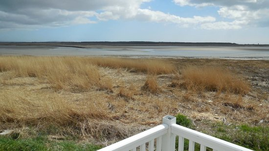Carmarthen Bay Holiday Park - Park Resorts: View of the sea from our caravan