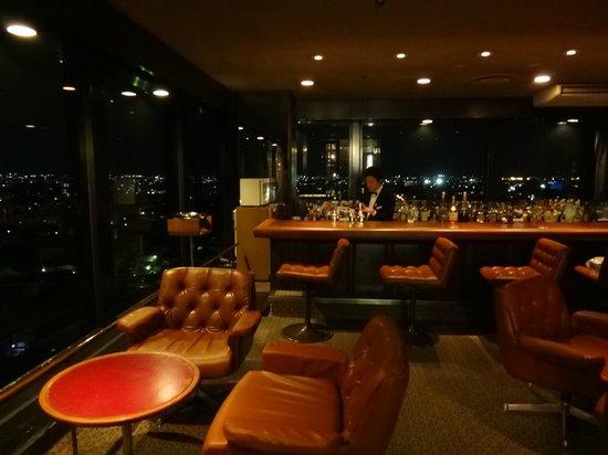 Kanazawa New Grand Hotel: Bar panoramique