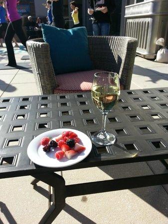 Kimpton Hotel Eventi: Petite pause vin gratuit