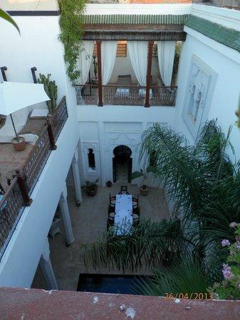 Bellamane, Ryad & Spa: Small patio