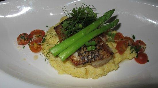 Centara Ras Fushi Resort & Spa Maldives : Repas restaurant Italien