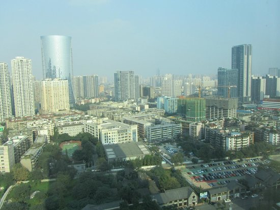 View From The Room - Picture Of Shangri-la Hotel Chengdu  Chengdu