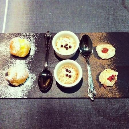 Caoba Restaurant : petit fours